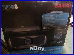 ACTIVATED CRSR-10 Sirius Satellite Radio + Sanyo boombox docking station BMBX-10
