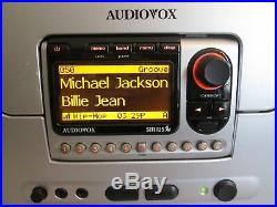 ACTIVATED PNP3 radio with AUDIOVOX BOOMBOX SIR-BB3 ANTENNA sir bb3 Sirius