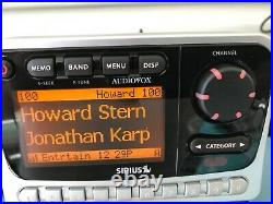 ACTIVATED PROMO READ Sirius AUDIOVOX PNP2 sir-pnp2 receiver only sirpnp2 pnp1