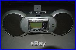 ACTIVATED SIRIUS SATELLITE RADIO SPORTSTER REPLAY SP-R2 RECEIVER WithBOOMBOX B1A