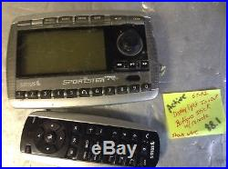 ACTIVATED SIRIUS SPORTSTER SP-R2 REPLAY RECEIVER + remote Buttons display READ