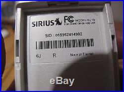 ACTIVATED SIRIUS STILETTO SL10 lifetime subscription cradle power cord antenna