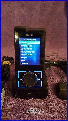 ACTIVATED-SIRIUS Stiletto SL2 Satellite Radio Receiver & MP3 Player new battery
