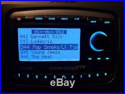 ACTIVATED Sirius Sportster REPLAY SP-R2 Radio WithVehicle Kit EUC Howard Stern inc