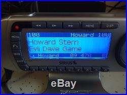 ACTIVATED Sirius XACT XTR8 Satellite Radio Receiver & home kit nice looking st2