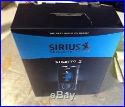 ACTIVATED in box STILETTO 2 SL2PK1 portable kit SL2 SL 2 sirius xm radio XM