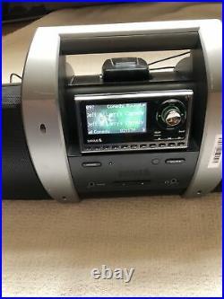 ACTIVE SIRIUS XM SP5 RADIO AND BOOMBOX. (Lifetime Subscription.)
