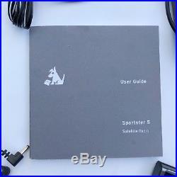 ACTIVE SIRIUS XM SP5 Sportster 5 SATELLITE RADIO maybe Lifetime Sub w Extras