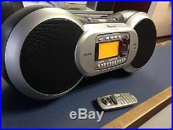 ACTIVE Sirius Sportster Radio (SP-R1) + Boombox (SP-B1) + Remote! Lifetime
