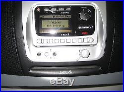 AUDIOVOX SIR-BB1 BOOMBOX SIRIUS SATELLITE RADIO (Life time subscription)
