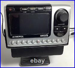 Activated Audiovox PNP3 SIRIUS satellite receiver with Car Dock Kit