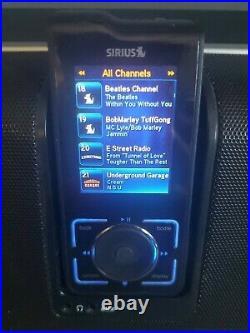Activated Lifetime Sirius Stiletto 2 SL2 XM Radio with Sirius SLBB2 Boombox Stereo