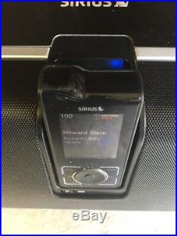 Activated SIRIUS STILETTO 2 Sl2 + EXECUTIVE SPEAKER BOOMBOX SLBB2 SOUND SYSTEM