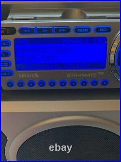 Activated Sirius Starmate R Satellite Radio ST2 With Boombox ST-B2 87.7