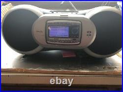 Activated Sp-r2 Receiver 87.7+Sirius XM Satellite Radio Sportster SP-B1 Boombox