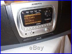 Active Audiovox SIRPNP2 Sirius Radio Boombox Potential Lifetime subscription