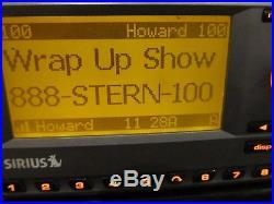 Active SIRIUS SP3 SPORTSTER 3 Satellite Radio Possible Lifetime Sub withHoward
