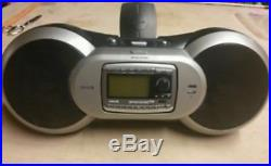 Active SIRIUS Sportster SP-R2 Replay radio with Boombox. Howard 100 101