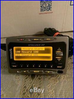 Active SIRIUS Streamer GT SIR-SL1 Howard Stern 100/101