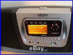 Active Sirius Audiovox Sirpnp2 Satellite Radio Receiver Sirbb1 Boombox Lifetime