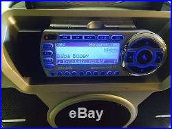Active Sirius Satellite Radio Receiver ST-2 With Sirius Boombox ST-B2