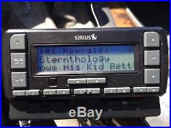 Active Sirius Satellite Radio Receiver Stratus 6 Potential Lifetime WithStern 1&2