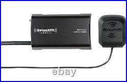 Alpine ILX-W650 Digital multimedia receiver back up camera and SiriusXM Tuner