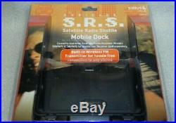 Audiovox SIRBB1 Sirius Satellite Radio Portable Boombox + Mobile Dock & Receiver