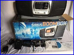 Audiovox Sirius satellite radio SIRBB1 receiver withboombox Lifetime Subscription