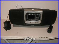 Audiovox Sirius satellite radio receiver withboombox Lifetime Subscription