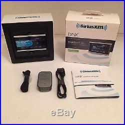 BNIB Sirius XM Radio LYNX, WiFi enabled & Vehicle Kit LV1