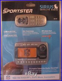Brand New in Package Sirius Sportster SP-R1 Still Sealed