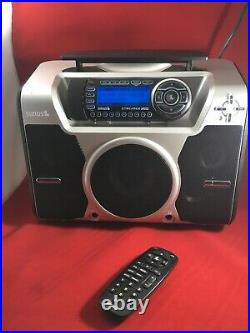 COMPLETE SIRIUS Starmate RADIO Boombox with Streamer Receiver, Remote + Car Kit