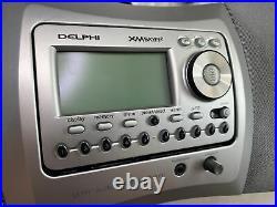 DELPHI SIRIUS XM SATELLITE RADIO SKYFi2 AUDIO SYSTEM BOOMBOX SA10001