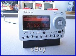 DELPHI SKYFI XM SATELLITE RADIO RECEIVER- ACTIVATED LIFETIME SUBSCRIPTION