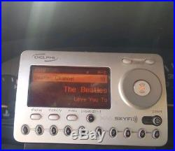 DELPHI XM satellite radio, car ducking LIFETIME SUBSCRIPTION