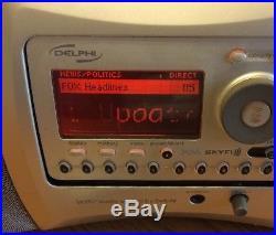 Delphi SA10000 Sirius XM Satellite Radio Receiver LIFETIME SUBSCRIPTION SkyFi