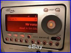 Delphi SA10000 XM Satellite Radio Receiver ONLY LIFETIME SUBSCRIPTION 200+ Chans