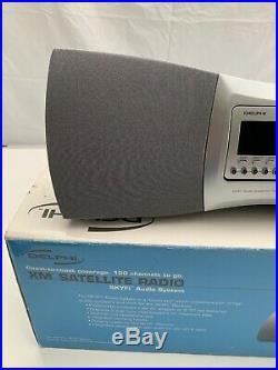Delphi SA10000 XM Satellite Radio Receiver with BoomBox LIFETIME SUBSCRIPTION