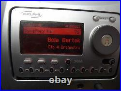 Delphi SA10000 XM radio Receiver ONLY, SPORTS Active LIFETIME SUBSCRIPTION