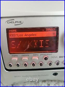 Delphi SA10000 XM radio Receiver SPORTS Active LIFETIME SUBSCRIPTION Free Ship