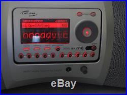 Delphi SA10000 XM satellite radio Receiver with BK BoomBox-LIFETIME SUBSCRIPTION