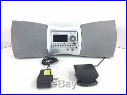 Delphi SA10000 XM satellite radio with lifetime subscription With Boombox Speakers