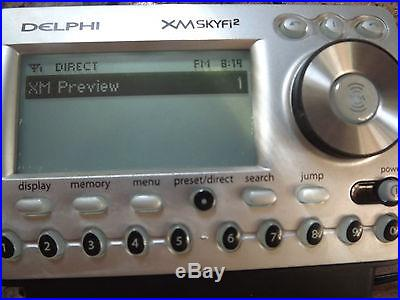Delphi SKYFi2 SA10101 XM Sirius Satellite Radio Receiver W/Car Kits, Mount
