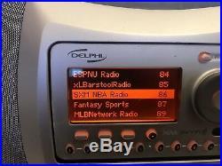 Delphi SKYFi SA10000 Sirius XM Sat Radio Receiver Boombox Lifetime Subscription