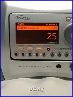 Delphi XM Satellite Radio Boombox With Lifetime Subscription Sounds Great