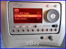 Delphi XM Satellite Radio LIFETIME SUBSCRIPTION SkyFi Boombox Sports NO HOWARD