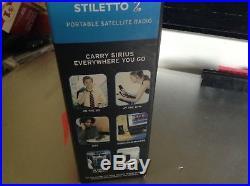 EUC ACTIVATED IN box STILETTO 2 SL2PK1 portable kit SL2 SL 2 sirius xm radio