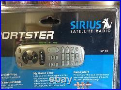 EUC N BLISTER RARE Sirius Sportster SP-R1 Radio 87.7 The real pre fcc + CALL