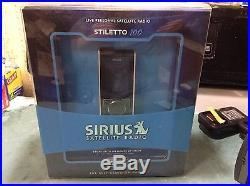 EUC Sirius Stiletto SL100 Personal Sat. Radio SL100-PK1 RARE find SL 100 call